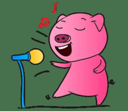Piggy Basic Set sticker #134580