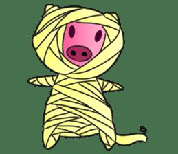 Piggy Basic Set sticker #134582