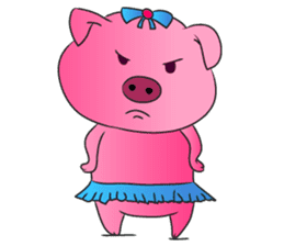 Piggy Basic Set sticker #134585