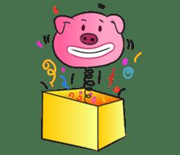 Piggy Basic Set sticker #134587