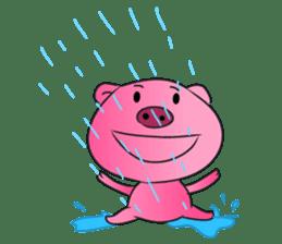 Piggy Basic Set sticker #134592