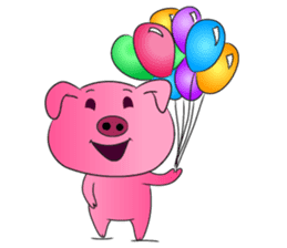 Piggy Basic Set sticker #134595
