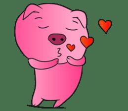 Piggy Basic Set sticker #134596