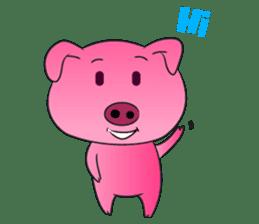 Piggy Basic Set sticker #134602