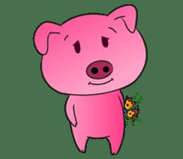 Piggy Basic Set sticker #134603