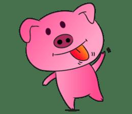 Piggy Basic Set sticker #134605