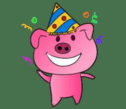 Piggy Basic Set sticker #134606