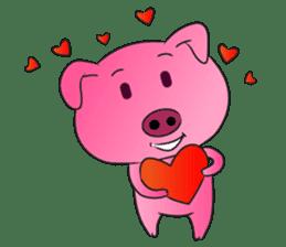 Piggy Basic Set sticker #134607