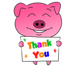 Piggy Basic Set sticker #134609