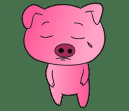 Piggy Basic Set sticker #134612