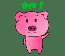 Piggy Basic Set sticker #134614