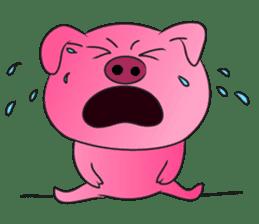 Piggy Basic Set sticker #134615