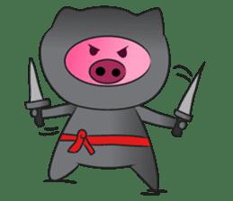 Piggy Basic Set sticker #134616