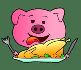 Piggy Basic Set sticker #134617