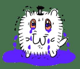 Chonmage-Hamster sticker #134742