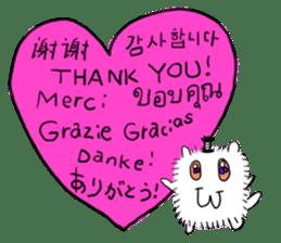 Chonmage-Hamster sticker #134749