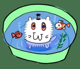 Chonmage-Hamster sticker #134752