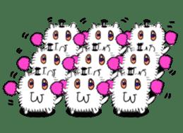 Chonmage-Hamster sticker #134754