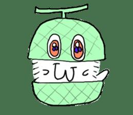 Chonmage-Hamster sticker #134762