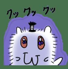 Chonmage-Hamster sticker #134766