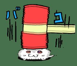 Chonmage-Hamster sticker #134768