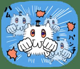 Chonmage-Hamster sticker #134769