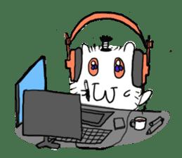 Chonmage-Hamster sticker #134772
