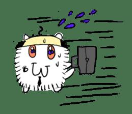Chonmage-Hamster sticker #134774