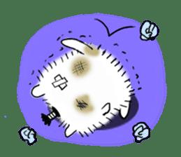 Chonmage-Hamster sticker #134775