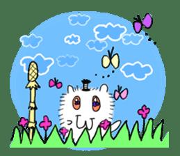 Chonmage-Hamster sticker #134779