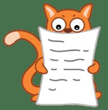 Cute Cat - funny and cute sticker #134949