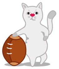 Cute Cat - funny and cute sticker #134956