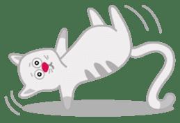 Cute Cat - funny and cute sticker #134958