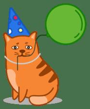 Cute Cat - funny and cute sticker #134963