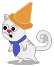 Cute Cat - funny and cute sticker #134964
