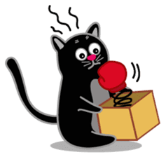 Cute Cat - funny and cute sticker #134965