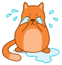 Cute Cat - funny and cute sticker #134967