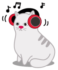 Cute Cat - funny and cute sticker #134968