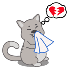 Cute Cat - funny and cute sticker #134973