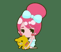 Pink-chan sticker #134980