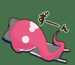 Pink-chan sticker #134987