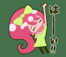 Pink-chan sticker #134994