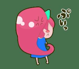 Pink-chan sticker #134995