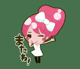 Pink-chan sticker #135010