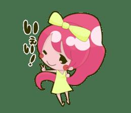 Pink-chan sticker #135011