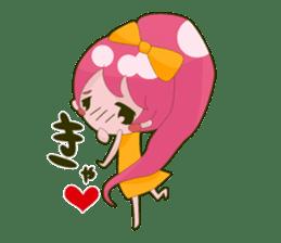 Pink-chan sticker #135013
