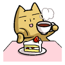 Nyanko (The U.M.A kitty) sticker #135132