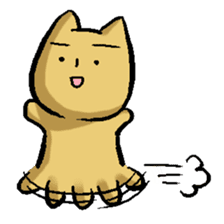 Nyanko (The U.M.A kitty) sticker #135136