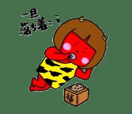 Oni Kids sticker #135144
