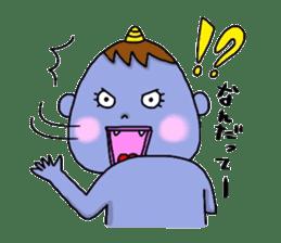 Oni Kids sticker #135172